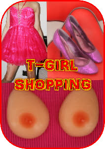 T-Girl Shopping