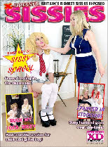 Sissies get humiliated and exposed in print in the latest issue of X-DRESSER SISSIES